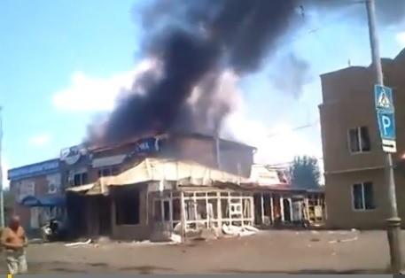 Sloviansk tan hoang sau cuộc pháo kích của quân đội Ukraine - ảnh 2