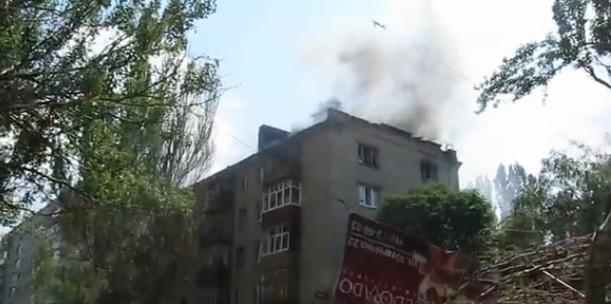 Sloviansk tan hoang sau cuộc pháo kích của quân đội Ukraine - ảnh 3