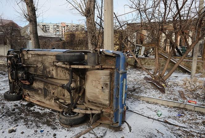 [ẢNH] Miền Đông Ukraine sau 3 ngày đình chiến - ảnh 10