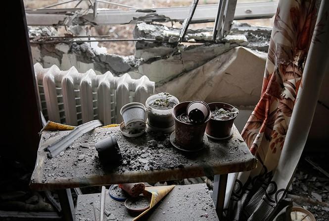 [ẢNH] Miền Đông Ukraine sau 3 ngày đình chiến - ảnh 12