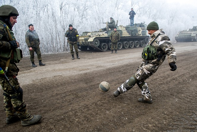 [ẢNH] Miền Đông Ukraine sau 3 ngày đình chiến - ảnh 20