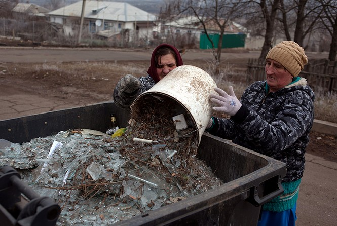 [ẢNH] Miền Đông Ukraine sau 3 ngày đình chiến - ảnh 7