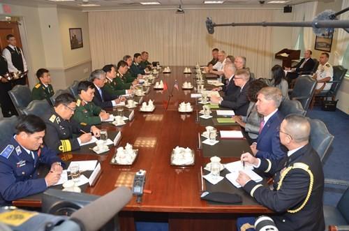 Thúc đẩy quan hệ quốc phòng Việt Nam - Hoa Kỳ - ảnh 1
