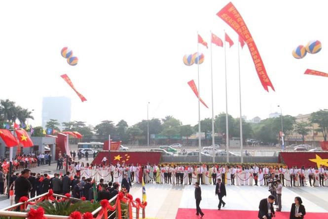 Lễ đón trọng thể Chủ tịch Trung Quốc Tập Cận Bình - ảnh 31