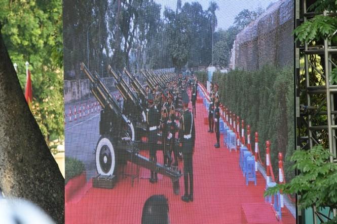 Lễ đón trọng thể Chủ tịch Trung Quốc Tập Cận Bình - ảnh 23