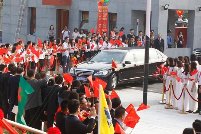 Lễ đón trọng thể Chủ tịch Trung Quốc Tập Cận Bình - ảnh 17