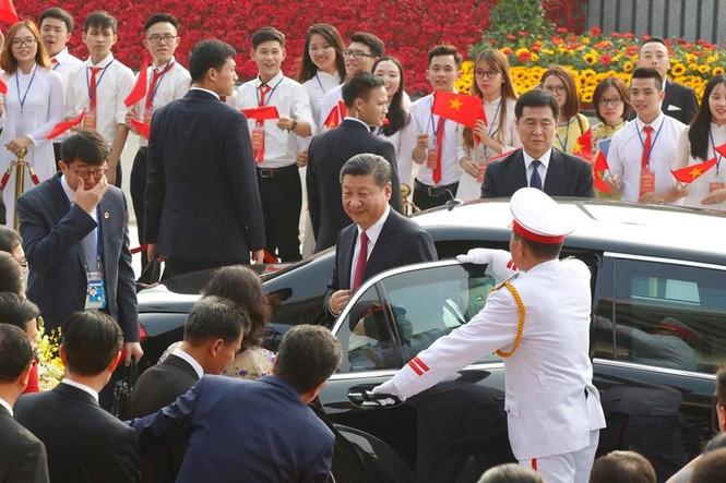 Lễ đón trọng thể Chủ tịch Trung Quốc Tập Cận Bình - ảnh 18