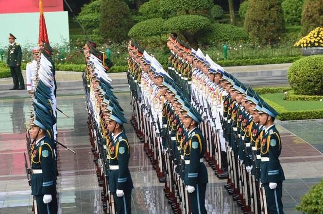 Lễ đón trọng thể Chủ tịch Trung Quốc Tập Cận Bình - ảnh 14