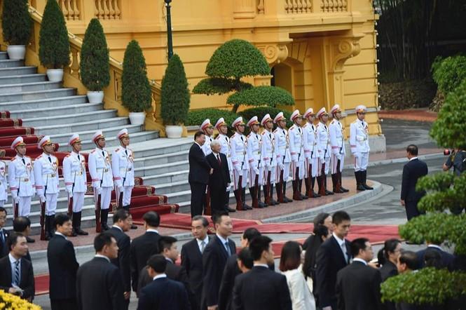 Lễ đón trọng thể Chủ tịch Trung Quốc Tập Cận Bình - ảnh 8
