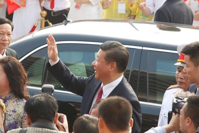 Lễ đón trọng thể Chủ tịch Trung Quốc Tập Cận Bình - ảnh 19