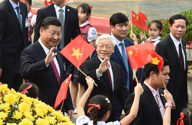 Lễ đón trọng thể Chủ tịch Trung Quốc Tập Cận Bình - ảnh 9