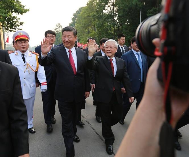 Lễ đón trọng thể Chủ tịch Trung Quốc Tập Cận Bình - ảnh 3