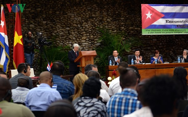 Thế hệ trẻ Việt Nam - Cuba gìn giữ và viết tiếp những trang mới - ảnh 1
