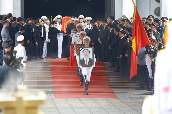 Hình ảnh xúc động tại lễ truy điệu Chủ tịch nước Trần Đại Quang - ảnh 12