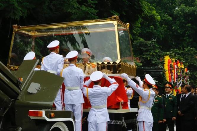 Hình ảnh xúc động tại lễ truy điệu Chủ tịch nước Trần Đại Quang - ảnh 15