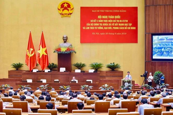 Toàn cảnh Hội nghị toàn quốc sơ kết 3 năm thực hiện Chỉ thị 05 - ảnh 1
