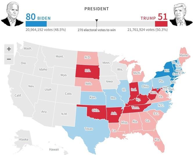 Mỹ sắp có cuộc bầu cử nhiều người bỏ phiếu nhất trong một thế kỉ - ảnh 33