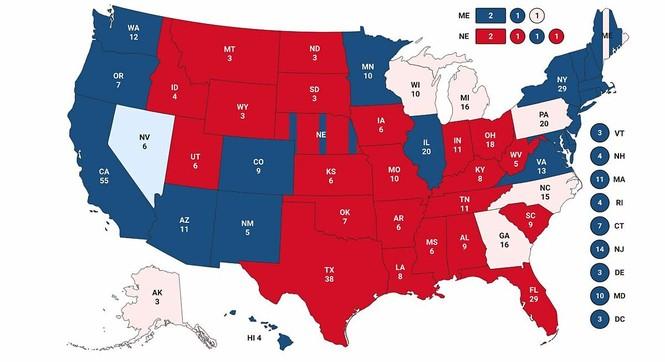 Mỹ sắp có cuộc bầu cử nhiều người bỏ phiếu nhất trong một thế kỉ - ảnh 2
