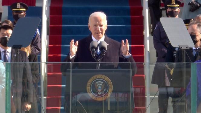 Trực tiếp: Ông Joe Biden tuyên thệ nhậm chức Tổng thống Mỹ thứ 46 - ảnh 12