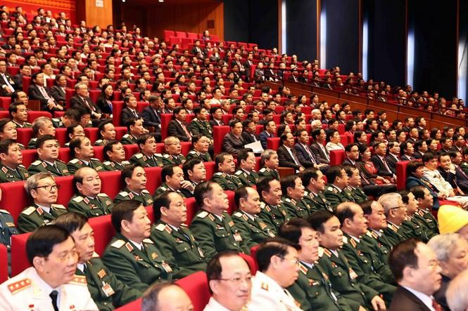 Tổng Bí thư, Chủ tịch nước: 'Không thế lực nào có thể ngăn cản nổi dân tộc ta đi lên' - ảnh 7