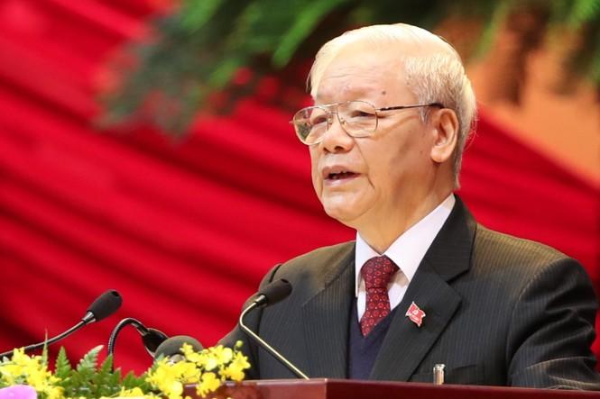 Tổng Bí thư, Chủ tịch nước: 'Không thế lực nào có thể ngăn cản nổi dân tộc ta đi lên' - ảnh 16