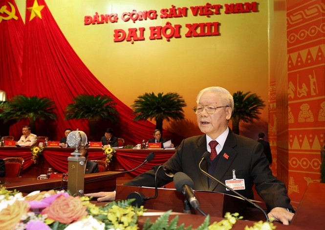 Tổng Bí thư, Chủ tịch nước: 'Không thế lực nào có thể ngăn cản nổi dân tộc ta đi lên' - ảnh 8