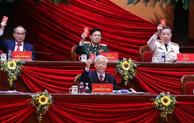 Tổng Bí thư, Chủ tịch nước: 'Không thế lực nào có thể ngăn cản nổi dân tộc ta đi lên' - ảnh 25