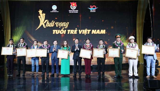 Gương mặt trẻ Việt Nam tiêu biểu và khát vọng dựng xây đất nước hùng cường