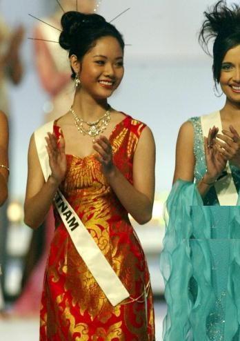 Hoa hậu Việt Nam đầu tiên thi Miss World và là người đẹp kín tiếng nhất dàn hậu - ảnh 2