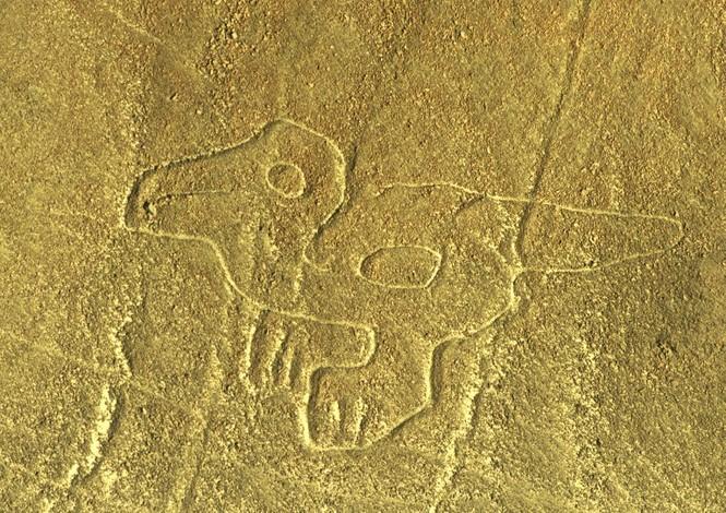 Bí ẩn 'Những đường vẽ Nazca' giữa sa mạc Peru - ảnh 2