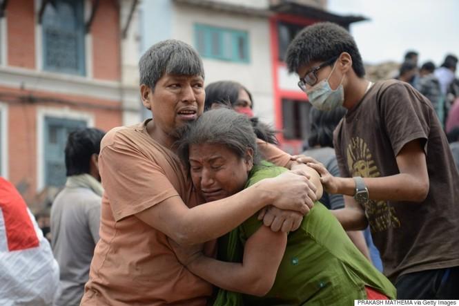 Đau thương bao trùm Nepal sau thảm họa động đất - ảnh 10