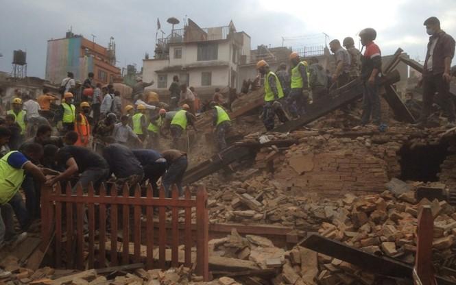 Đau thương bao trùm Nepal sau thảm họa động đất - ảnh 6