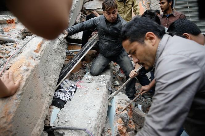 Đau thương bao trùm Nepal sau thảm họa động đất - ảnh 8