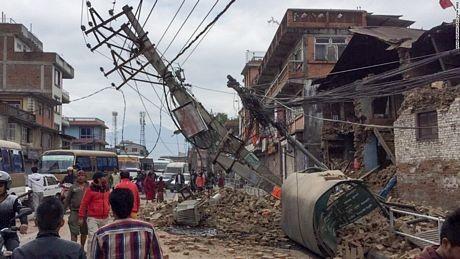 Đau thương bao trùm Nepal sau thảm họa động đất - ảnh 4