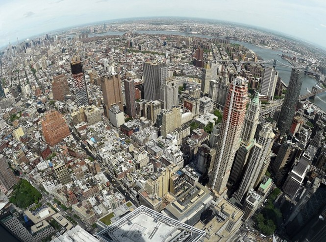 """Mỹ mở cửa đài quan sát """"chọc trời"""" ở tòa tháp WTC - ảnh 2"""