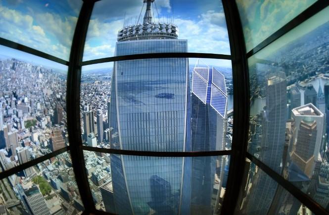 """Mỹ mở cửa đài quan sát """"chọc trời"""" ở tòa tháp WTC - ảnh 3"""