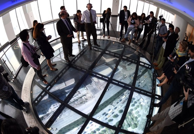 """Mỹ mở cửa đài quan sát """"chọc trời"""" ở tòa tháp WTC - ảnh 5"""