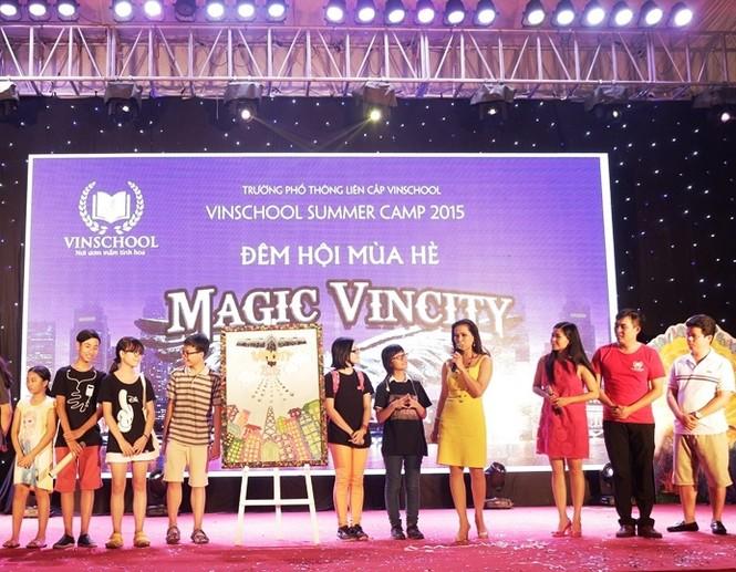 """Đêm hội """"trải nghiệm tương lai"""" tại thành phố hướng nghiệp VinCity - ảnh 5"""