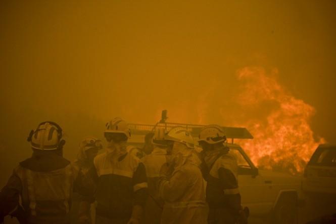 Hình ảnh cháy rừng khủng khiếp ở Tây Ban Nha - ảnh 5