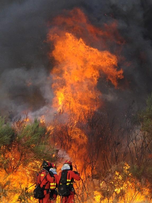 Hình ảnh cháy rừng khủng khiếp ở Tây Ban Nha - ảnh 8