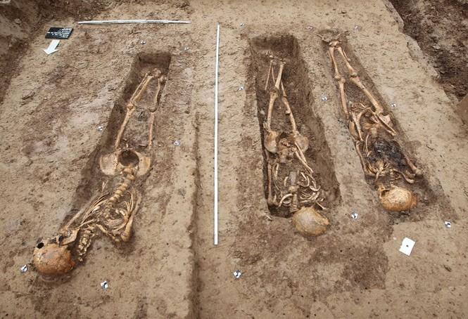 Tận thấy hố chôn tập thể 200 binh sĩ Napoleon tại Đức - ảnh 1