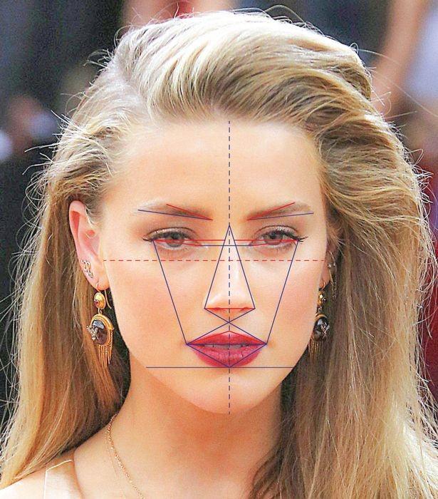 Amber Heard có gương mặt đẹp nhất thế giới theo nghiên cứu khoa học - ảnh 1