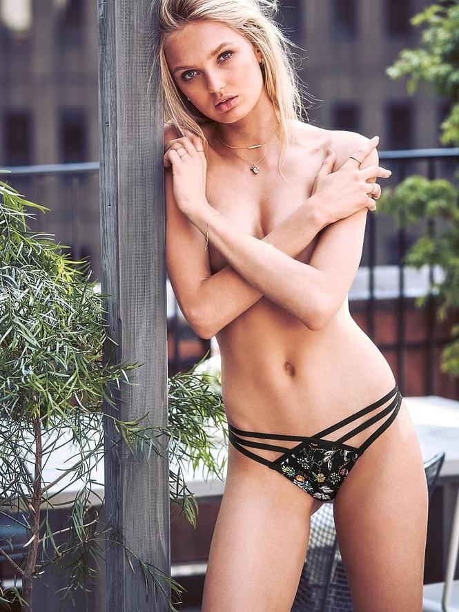 Romee Strijd siêu quyến rũ trong các mẫu nội y mới của Victoria's Secret - ảnh 6