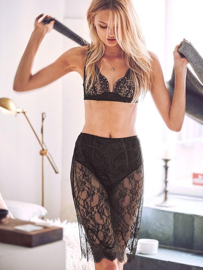 Romee Strijd siêu quyến rũ trong các mẫu nội y mới của Victoria's Secret - ảnh 7