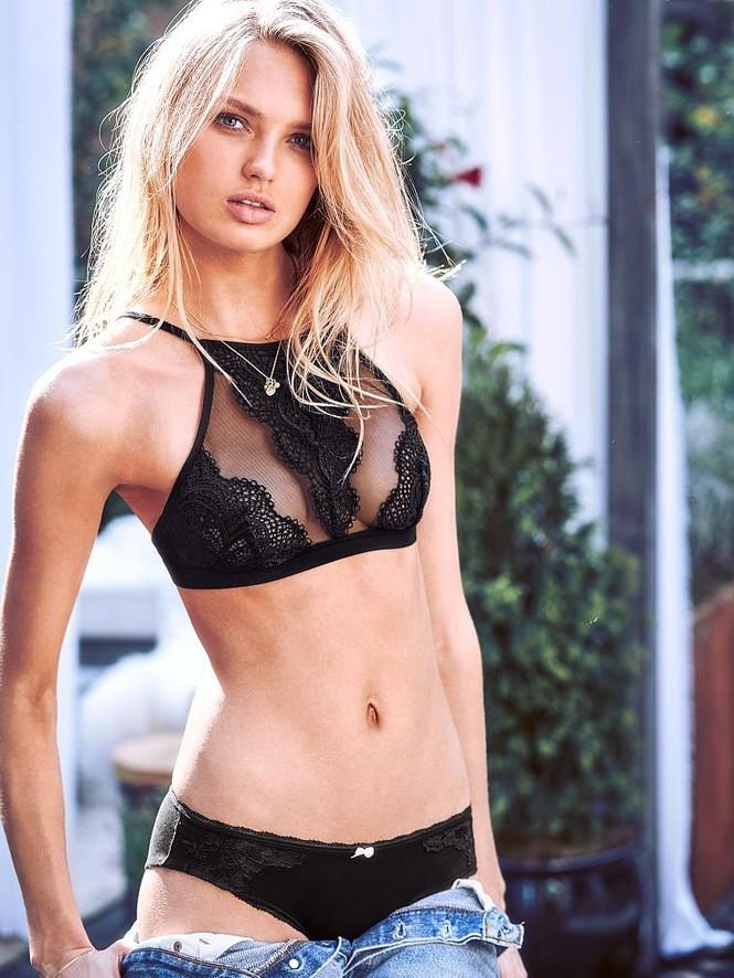 Romee Strijd siêu quyến rũ trong các mẫu nội y mới của Victoria's Secret - ảnh 2