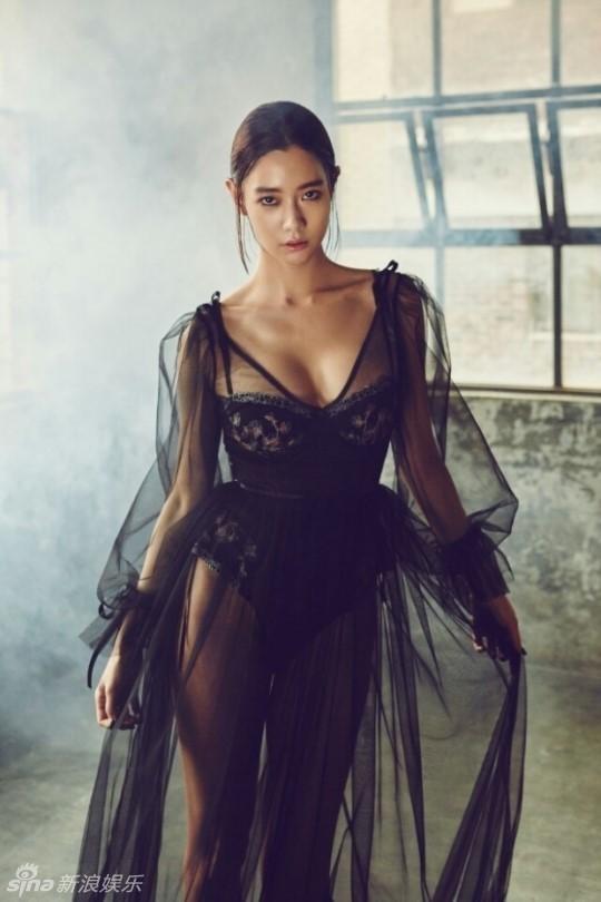 'Bom sex Hàn' Clara thả dáng siêu quyến rũ với nội y - ảnh 2
