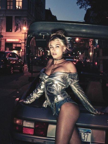 Mỹ nhân nóng bỏng Hailey Baldwin lả lơi gợi tình trên phố - ảnh 3