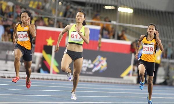 SEA Games ngày 22/8: Tú Chinh lên ngôi 'nữ hoàng' chạy 100m - ảnh 3