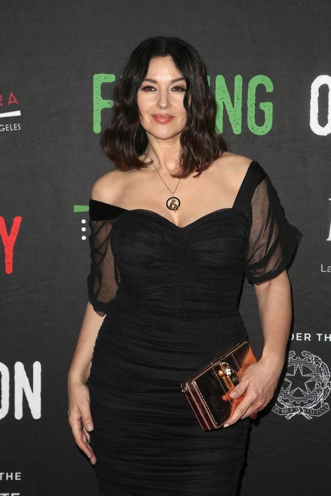 'Biểu tượng sắc đẹp' Monica Bellucci đẹp lôi cuốn tại sự kiện - ảnh 1