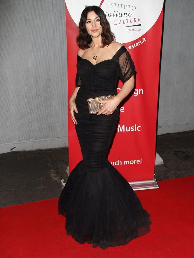 'Biểu tượng sắc đẹp' Monica Bellucci đẹp lôi cuốn tại sự kiện - ảnh 5